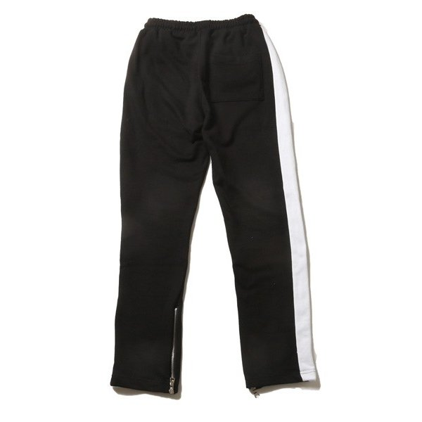 サイドライン 裾ZIP テーパード パンツ メンズ|soyous|04