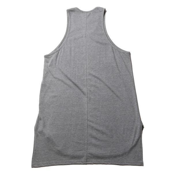 ロング タンクトップ 裾ラウンド スリット メンズ soyous 06
