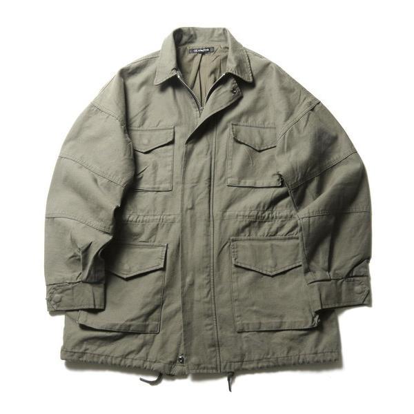 ビッグ シルエット M65 ミリタリー ジャケット メンズ|soyous|04