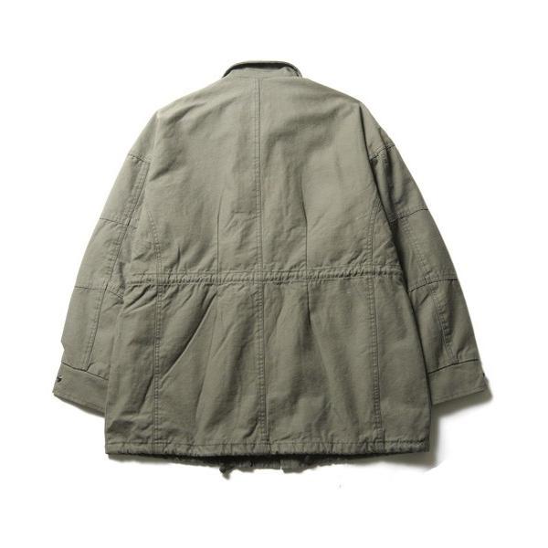 ビッグ シルエット M65 ミリタリー ジャケット メンズ|soyous|05