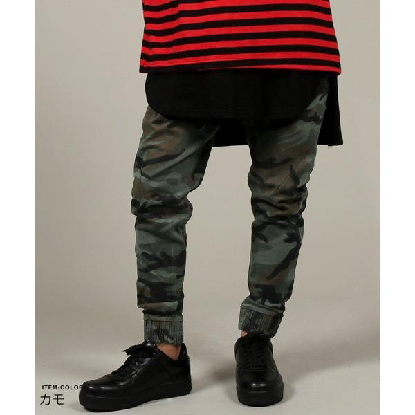 USED 加工 テーパード ジョガー パンツ メンズ|soyous|04