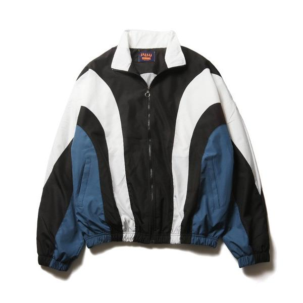 90s ライク ナイロン スポーツ ブルゾン メンズ|soyous|05