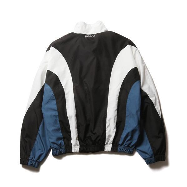 90s ライク ナイロン スポーツ ブルゾン メンズ|soyous|06