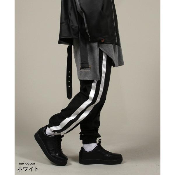 90sライク ナイロン トレーニングパンツ ジャージーパンツ ロングパンツ ボトムス メンズファッション|soyous|02
