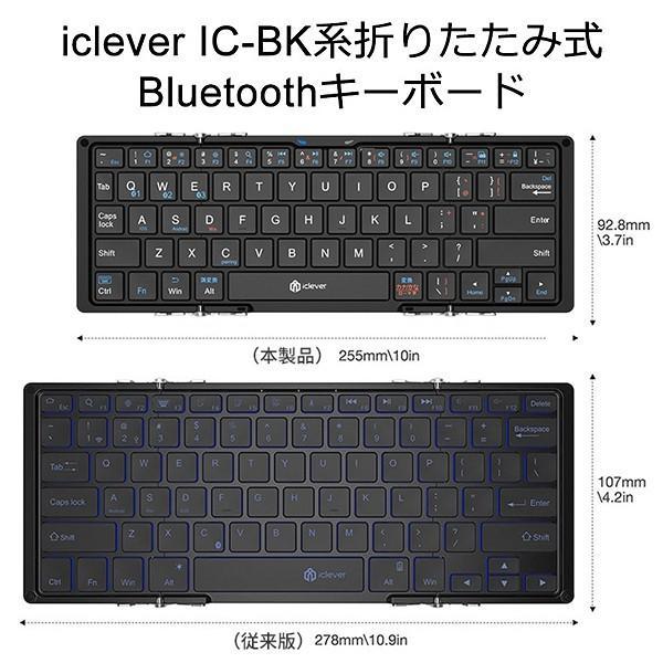 Bluetooth キーボード ワイヤレス キーボード 無線 折りたたみ式 コンパクト 持ち運びやすい ミニキーボード ルートゥース キーボード 日本語配列 無線 sp-plus 08