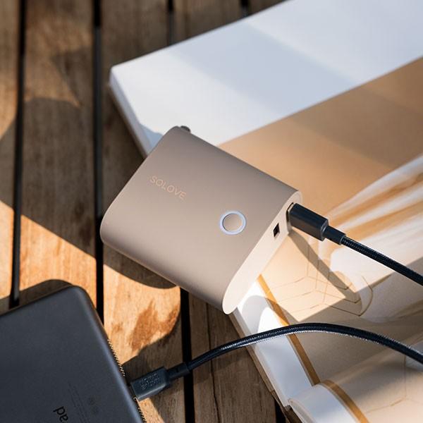 モバイルバッテリー 5000mAh  2ポート 大容量 コンパクト スマホ充電器 急速 iPhone Android 携帯充電器 スマホ 充電器 solove【PSEマーク付】|sp-plus|16