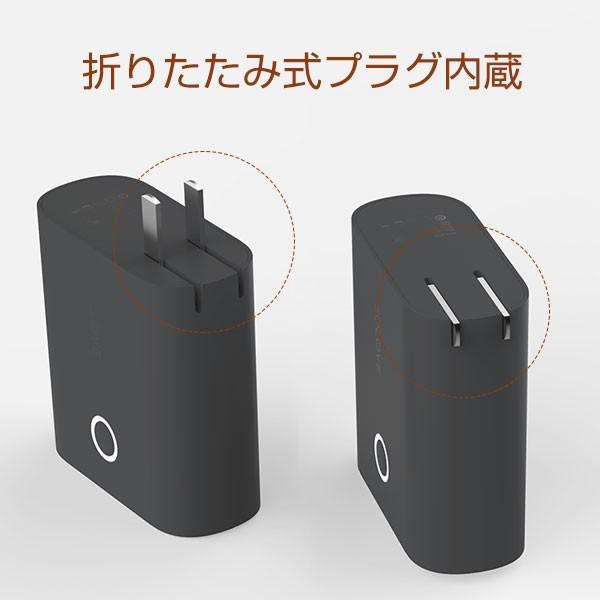 モバイルバッテリー 5000mAh  2ポート 大容量 コンパクト スマホ充電器 急速 iPhone Android 携帯充電器 スマホ 充電器 solove【PSEマーク付】|sp-plus|09