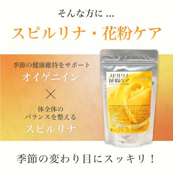スピルリナ・花粉ケア サプリメント ポイント消化 健康食品|sp100|04
