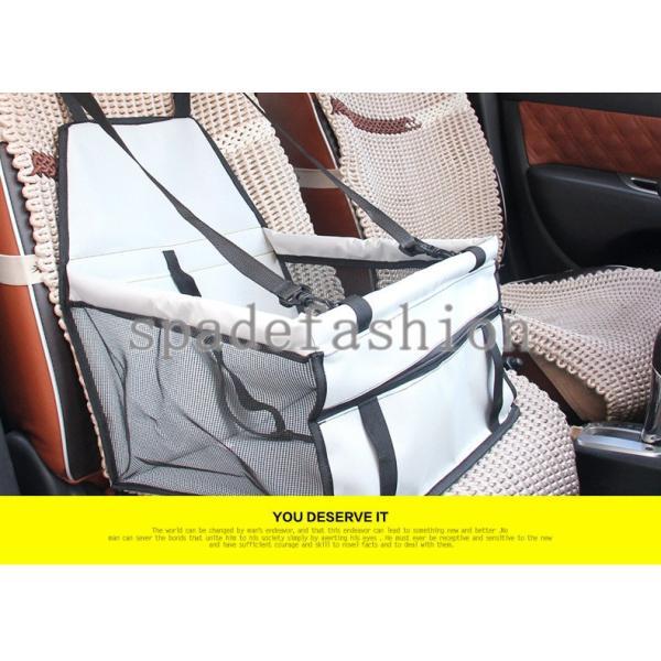 犬ドライブシート 車 シート ドライブシート 座席 ペット用ドライブシート カーシート シートカバー 防水シート 小型犬 セカンドシート アウトドア ドライブ|spadefashion|02