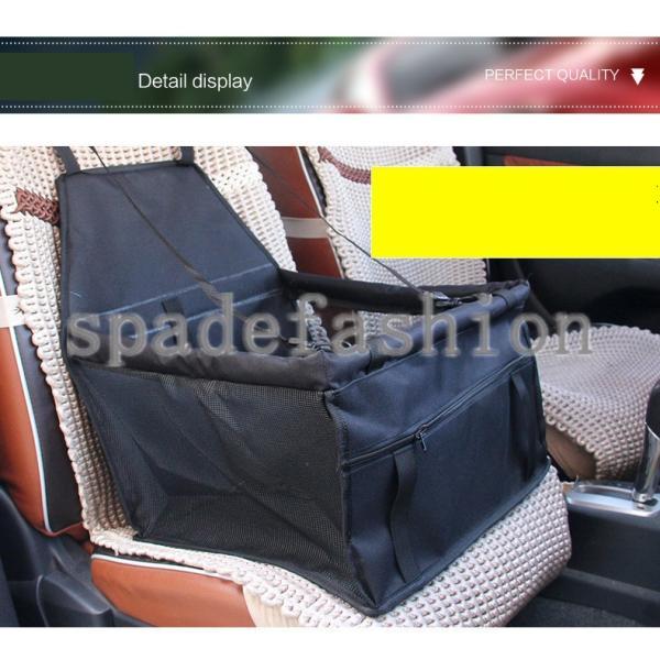 犬ドライブシート 車 シート ドライブシート 座席 ペット用ドライブシート カーシート シートカバー 防水シート 小型犬 セカンドシート アウトドア ドライブ|spadefashion|05