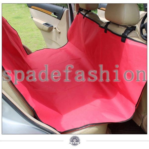 ペット ドライブシート シート ドライブ 旅行 移動 車用 車載用 犬 小型犬 中型犬 ドッグ 後部座席シート 防水 カーシート 座席シートカバー 犬用品 アウトドア|spadefashion|05