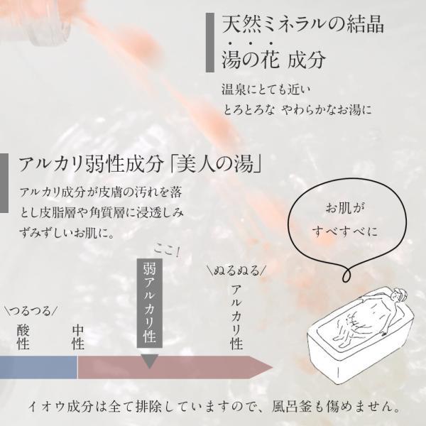 入浴剤ギフト「癒」いやし 贈答用箱入り 健康の贈り物 お風呂で健康づくりのお手伝い|spalabo|07