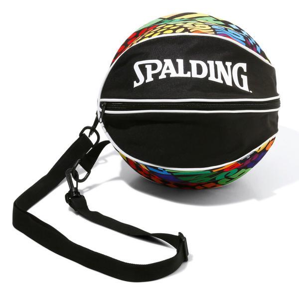 バスケット ボールバッグ オプティカルレインボー 49-001OR バスケ ボールケース 1個 メンズ レディース スポルディング
