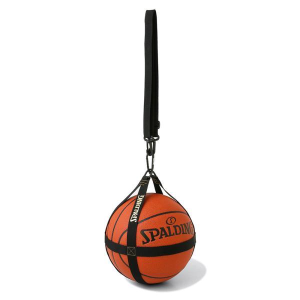 バスケット バスケットボールハーネス ブラック×ゴールド 50-013GD バスケ ボールケース 1個 メンズ レディース スポルディング