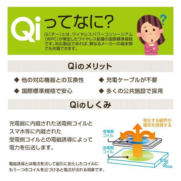 Qi認定取得済み 置きラク充電スタンド  ワイヤレス充電 1年保証 iPhone8 iPhone8 plus iPhone8 プラス iPhoneX 縦置き 横置き Qi充電  宅配便料金込み|specdirect|05