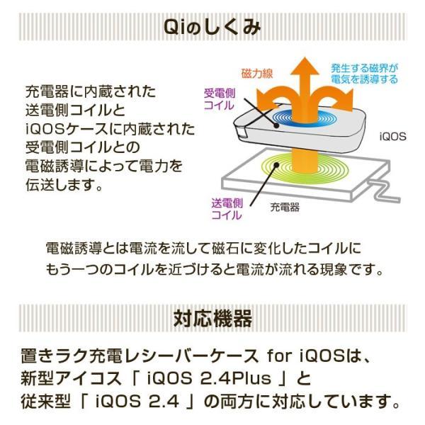 アイコス ケース ワイヤレス充電 iQOSケース ワイヤレス 充電 Qi規格準拠 レシーバー 耐衝撃ケース 宅配便送料込|specdirect|04