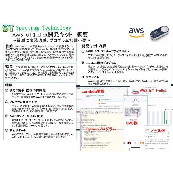 AWS IoT 1-click開発キット:エンタープライズボタン使用|spectrum-tech-y|03