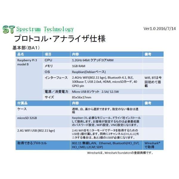 WiFiプロトコル・アナライザ基本部|spectrum-tech-y|02