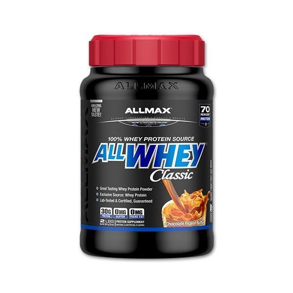 オールホエイクラシック 907g (2LB) チョコレートビーナッツバター ALLmax Nutrition オールマックスニュートリション|speedbody