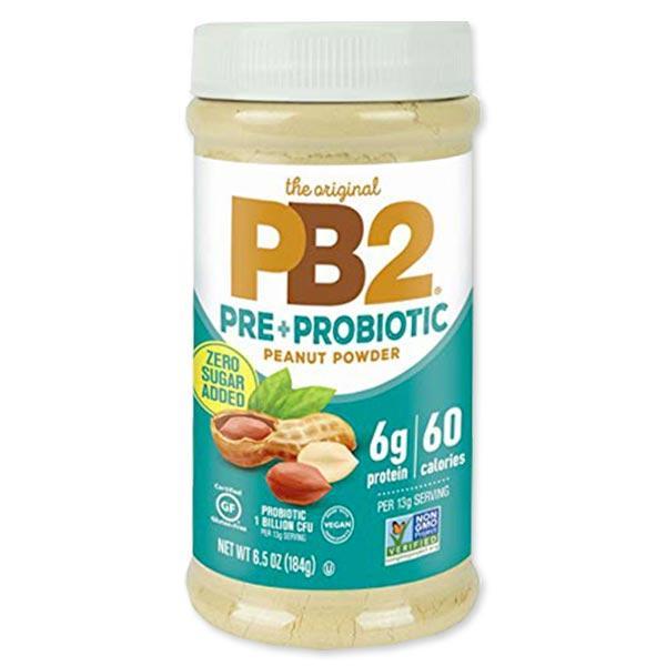 訳あり 期限間近 プレ+プロバイオティック ピーナッツバターパウダー 184g(6.5oz) PB2 Foods(ピービー2フーズ)
