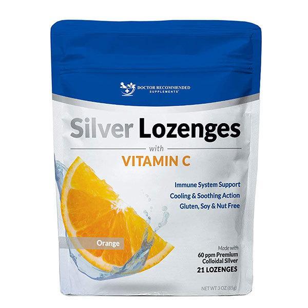 シルバートローチ ビタミンC オレンジ 21粒 DOCTOR RECOMMENDED SUPPLEMENTS