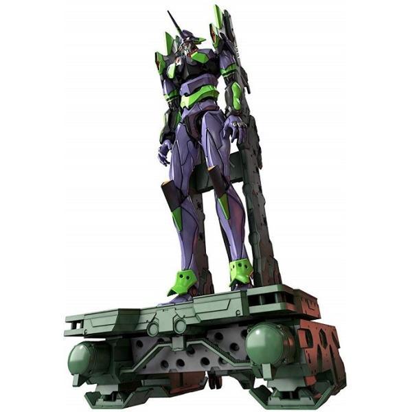 新品    RGエヴァンゲリオン汎用ヒト型決戦兵器人造人間エヴァンゲリオン初号機DX輸送台セット色分け済みプラモデル