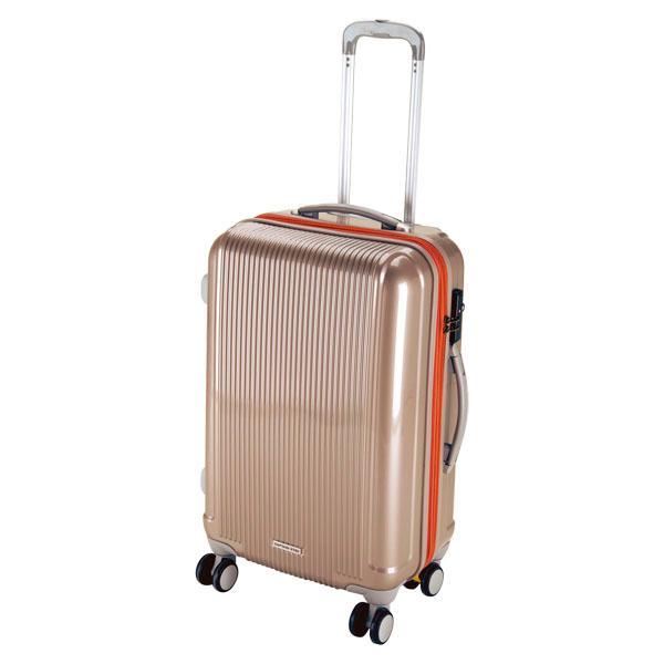 CAPTAIN STAG キャプテンスタッグ  グレル トラベルスーツケース TSAロック付ダブルファスナータイプ 〈M〉 シャ