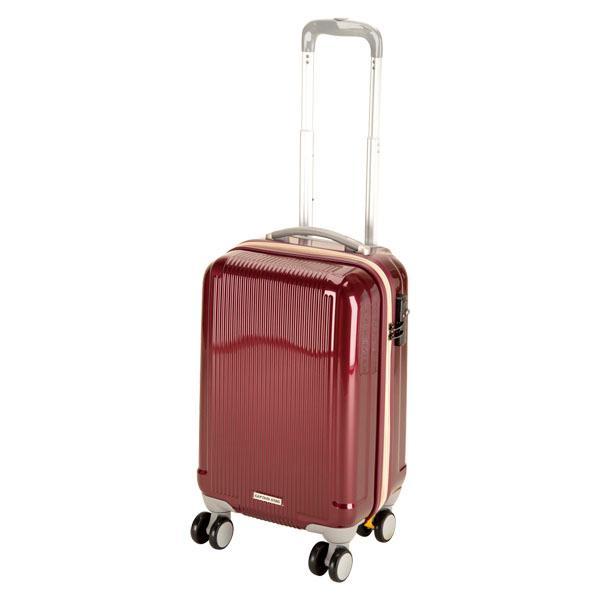 CAPTAIN STAG キャプテンスタッグ  グレル トラベルスーツケース TSAロック付ダブルファスナータイプ 〈S〉 ワイ