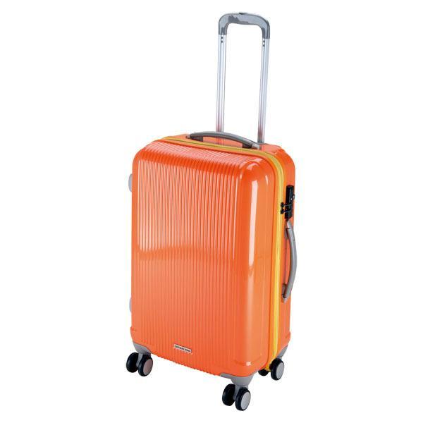 CAPTAIN STAG キャプテンスタッグ  グレル トラベルスーツケース TSAロック付ダブルファスナータイプ 〈M〉 サン