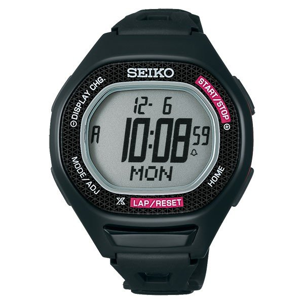 SEIKO セイコー スーパーランナーズ S611 ブラック×ピンク【スポーツショップ限定カラー】 SBEG009