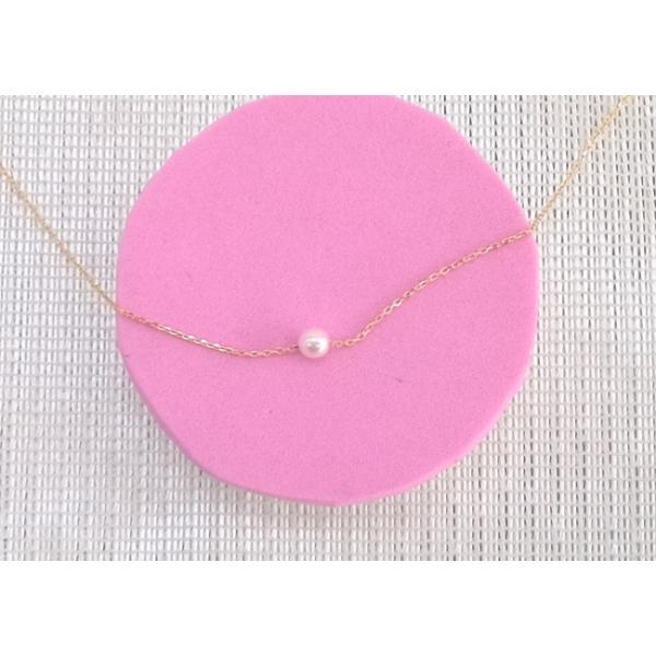 ツジモト真珠の ベビーパール  あこや本真珠 K18 スルー  貫通ネックレス|spicapearl|06
