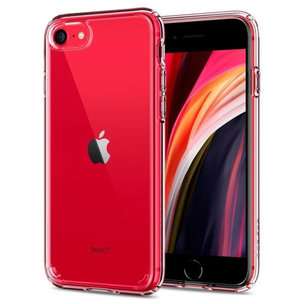 Spigen iPhone SE [第2世代] / iPhone8 / 7 対応 ケース ウルトラ・ハイブリッド2 新型 背面クリア ワイヤレス充電対応 SE2 カバー シュピゲン