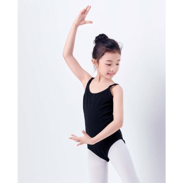 Yahoo最安価挑戦  バレエレオタード  子供  ジュニア  演出服  キッズ  連体ダンス衣装  ガールズ  タンクトップ  スカートなし  練習着  新体操  ステージ衣装 spillhope0601 04