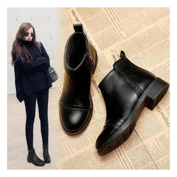 エンジニアブーツ  ウエスタンブーツ ワークブーツ 厚底 防寒靴 ショートブーツ アウトドア 革靴 レディースシューズ