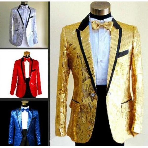 メンズ ジャケット ヒップホップ 演出服 ロック風 ダンスウェア 長袖 トップス スパンコール ステージ衣装 キラキラ  上着 ジャズダンス spillhope0601 05