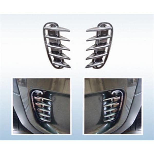 BMWミニ R60/CROSSOVER リア・ルーバーカバー/クローム|spiral-auto