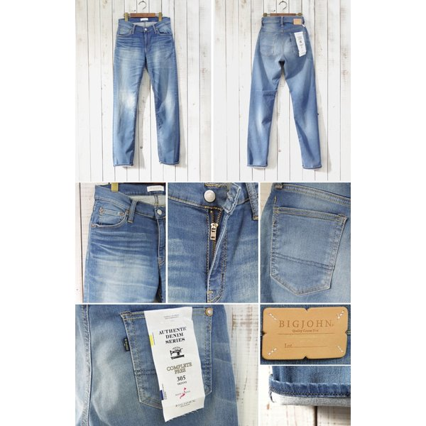 【BIG JOHN】 HIGH POWER SKINNY (bjm305f-254) Men's|spisurre|02