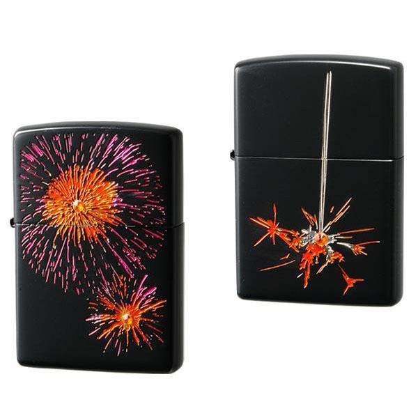 C ZIPPO(ジッポー) ライター 花火 ジッポライター ギフト おしゃれ ジッポ オイルライター プレゼント 和柄 喫煙具