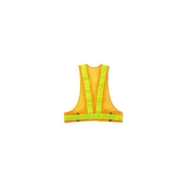 M 勝星 保安用品 安全ベスト(5cm巾) KA-360 イエロー×イエロー 代引き不可
