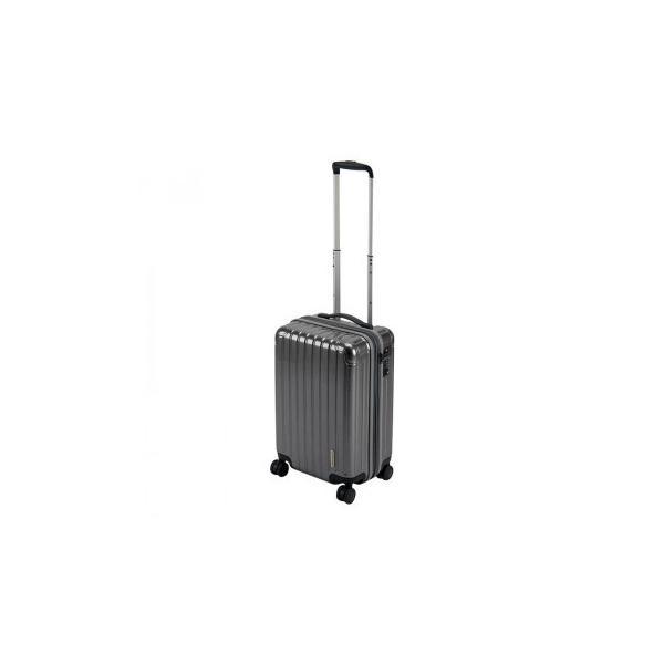 C CAPTAIN STAG キャプテンスタッグ パルティール スーツケース TSAロック付きWFタイプ S シルバー UV-0078