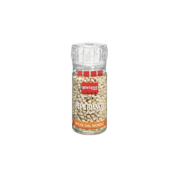 M モントスコ ホワイトペッパー(プラスチックミル) 48g 8セット 077007 代引き不可