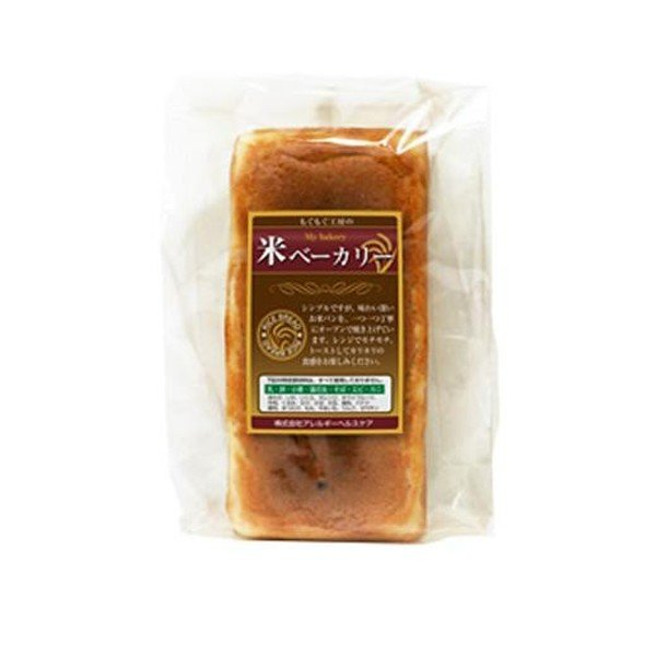 M もぐもぐ工房 (冷凍) 米(マイ)ベーカリー 食パン 1本入×5セット 代引き不可 小麦不使用 アレルギー 国産 米粉 食品 米粉パン トースト 小麦グルテンフリ