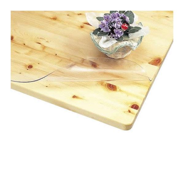 C TPP-7512 テーブルマット 75cm×120cm 同梱不可  透明 傷 防止 保護 防水 ダイニング 天板 ビニールシート 汚れ 日本製