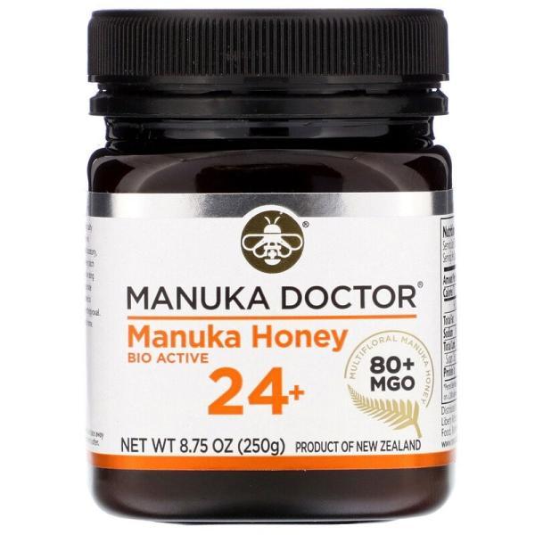 マヌカハニー 24+ 250g マヌカドクター バイオアクティブ24+ ニュージーランド産 蜂蜜 ハチミツ はちみつ 高品質 [消費期限2021年8月以降]|spl|02