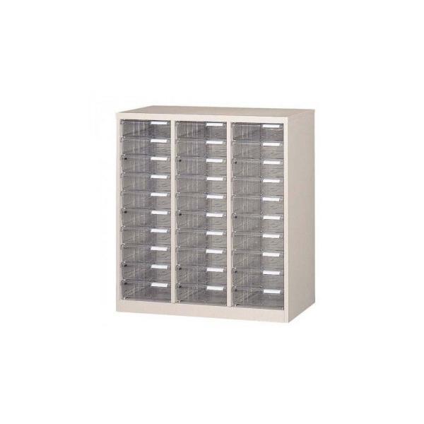 オフィス・店舗・施設向け レターケース A4判縦3列 深型10段 COM-A-310 デスクトレー 書類 棚