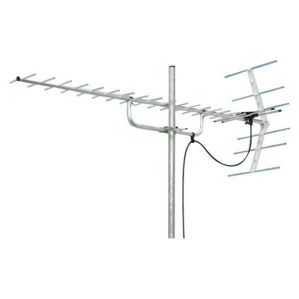 マスプロ電工 地上デジタル放送受信用 家庭用 UHFアンテナ 20素子 U206TMH 送料無料