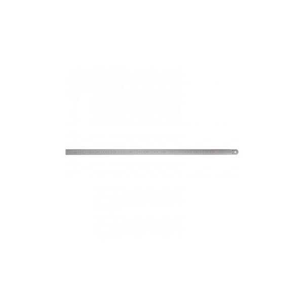 ステンレス・アルミ定規 ヤマヨ シルバー直尺 100cm 108-0005