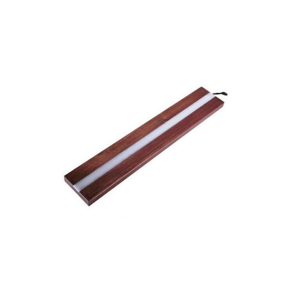 遊夢木や ハーバリウムスタンド RGBLED50 50cm ウォールナット