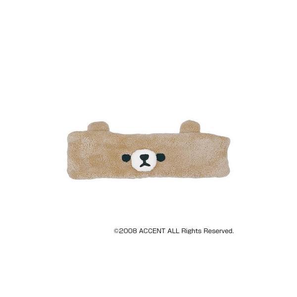 ACCENT MOFMOFRIENDS ふわふわタオル モフモフレンズ ヘアバンド T524133・6 クマ
