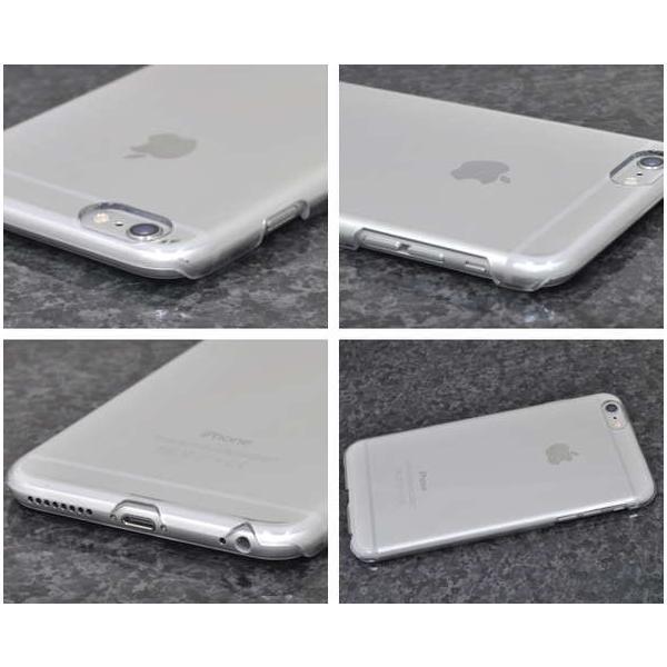 スマホベース用・6/6sプラス/iPhone6 Plus/6sPlus用ハードクリアケース|splash-wall|02